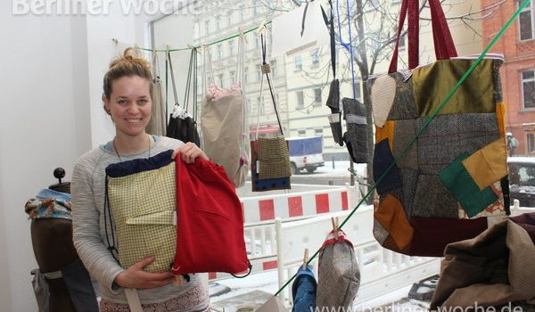 Upcycling-Projekt *vergissmeinnicht* der youngcaritas Berlin
